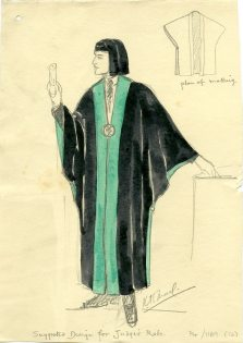 Judge's robes (UCDA/P4/1169/12)