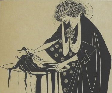 A Beardsley illustration from 'Salomé'