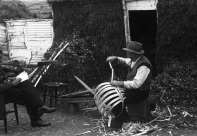 Basket making, Ballinglen, Co. Wicklow