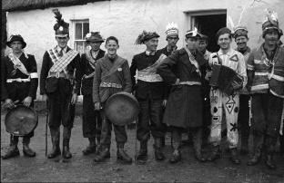 """St Stephen's Day Wren Boys: """"The Wran"""", Athea, Co. Limerick"""