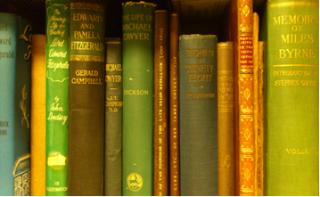 Books from the Bourke Library