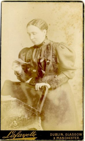 Photo of Lizzie Power, a prominent founding member of the PTAA (UCDA P145/1)