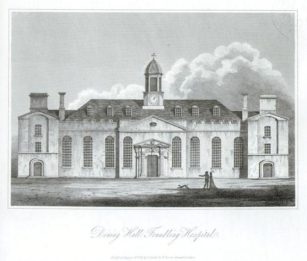 Foundling Hospital Dining Hall