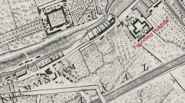 Rocques Map of Dublin 1773