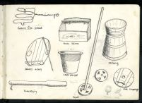 Household tools and implements, Gortahork, Co. Donegal, 1949.