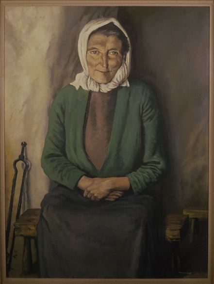 Donegal storyteller Anna Nic a'Luain