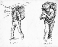 Turf Creels, Gortahork, Co. Donegal.