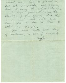 Letter from Michael to John pg1