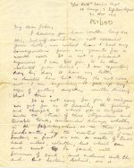 Letter describing life at the Front, 21 November 1916 (UCDA P57/200)
