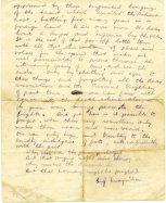 Letter from Michael to John pg2