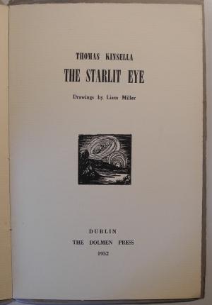 'The Starlit Eye' by Thomas Kinsella