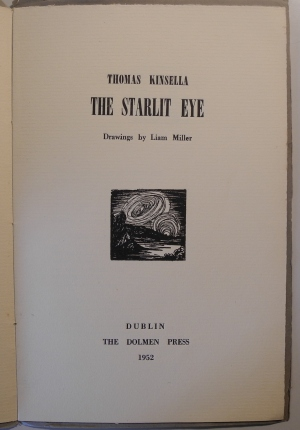 'The Starlit Eye' by Thomas Kinsella