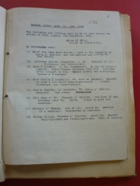 Field notes from Fearann an Choirce, Inishmore, Co. Galway, 1942