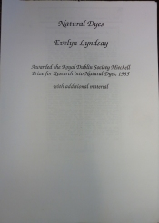 RDS Award Cover Sheet, 1985.