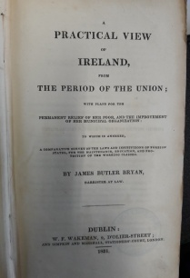 'A Practical View of Ireland from The Period of the Union', 1831