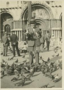 Theo Dillon in Venice on honeymoon, 21 June 1926 (UCDA P126/136/06)