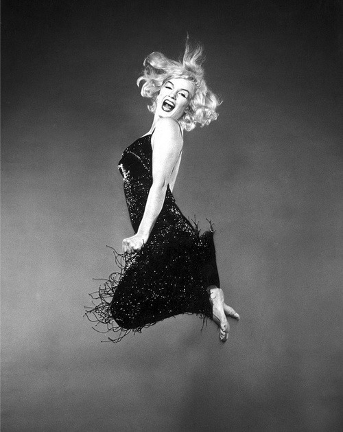 Marilyn jumps for joy at our nomination!