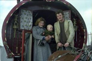 The McInerney family from Thurles, Co. Tipperary. Photograph by B. Ní Fhloinn, 1980