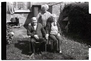 The Merrigan family from Co. Dublin. Photogrph by Gerard Brady, 1980