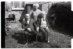 The Merrigan family from Co. Dublin. Photogrph by Gerard Brady, 1980