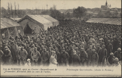 German prisoners at Verdun.