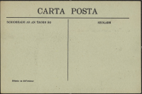 Reverse of the postcard.