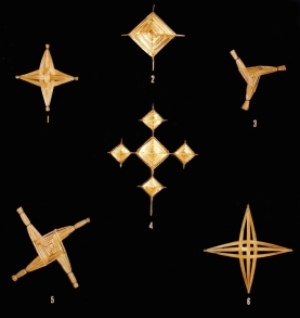 Various St. Brigid's Crosses