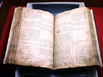 Pages from 'Leabhar Gearr na Pailíse' held in the National Folklore Collection.
