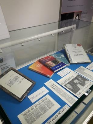 Exhibition case 4 - Reception