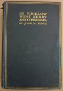Front cover of 'In Wicklow, West Kerry and Connemara' by J.M. Synge (1911).