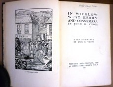 Title page of 'In Wicklow, West Kerry and Connemara' by J.M. Synge (1911).
