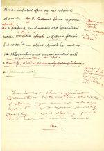 Final page of hand written essay. (UCDA P123/6/19v)