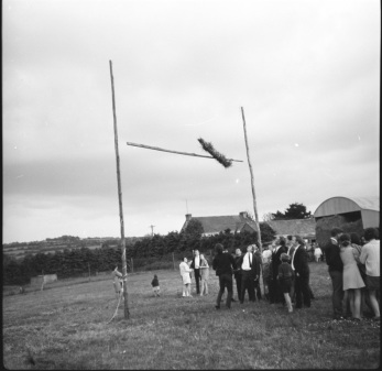 Games of Strength - Tossing the Sheaf, Galbally, Co Limerick 1970.