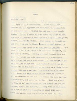 Máire Mac Néill's diary (NFC 973/300)
