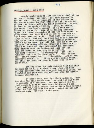 Michael J. Murphy diary (NFC 1390/282)