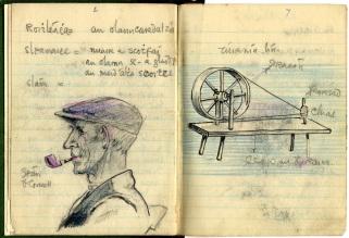 Seosamh Ó Conchúir's sketches (NFC 1537)