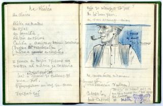 Seosamh Ó Conchúir's sketches (NFC 1537/8-9)