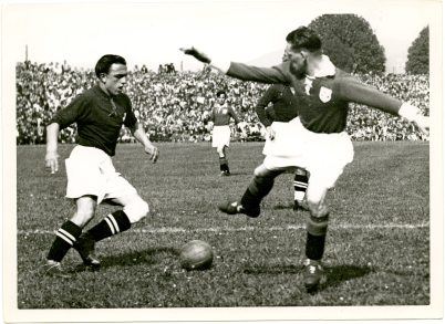 Ireland v Switzerland, Basle 5 May 1935. © Photopress Zürich (UCDA P137/102).