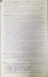 Acts of aggression carried out by British Forces, 17-22 January 1921, p112 (UCDA P7/A/13)