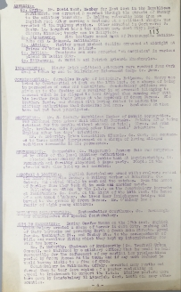 Acts of aggression carried out by British Forces, 17-22 January 1921, p113 (UCDA P7/A/13)