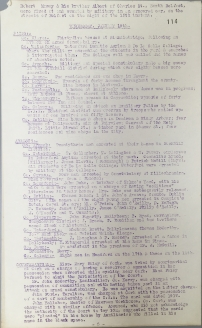 Acts of aggression carried out by British Forces, 17-22 January 1921, p114 (UCDA P7/A/13)