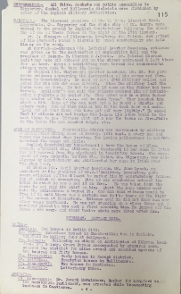 Acts of aggression carried out by British Forces, 17-22 January 1921, p115 (UCDA P7/A/13)