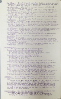 Acts of aggression carried out by British Forces, 17-22 January 1921, p116 (UCDA P7/A/13)